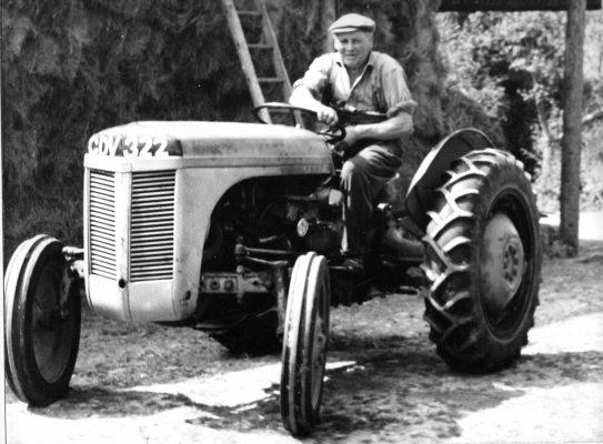 Frank Cleeve  the Farmer