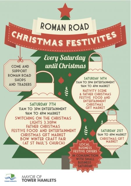 Roman Road Christmas Events Flyer WEB