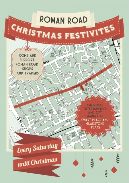 Roman Road Christmas Events Flyer2 WEB