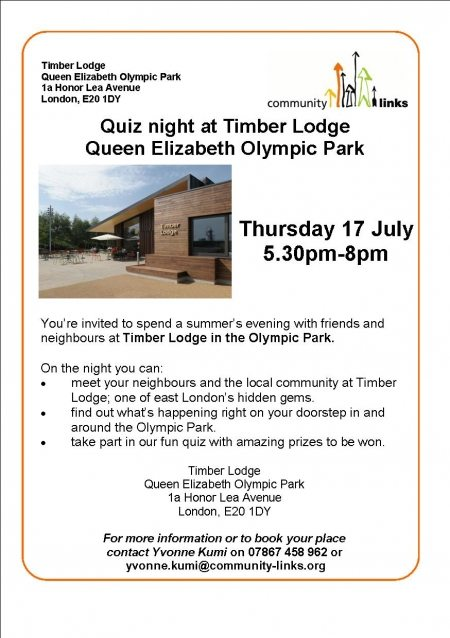 Quiz night at Timber Lodge NEW
