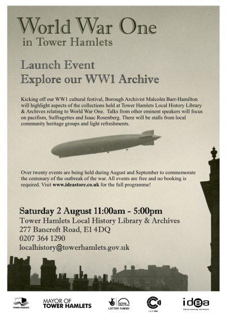 WW1 launch