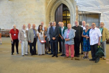 GEEZERS PARLIAMENT 2014 GROUP WITH JIM AND GEORGIA