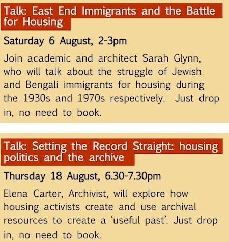 Radical Housing Exhibition12Exhibition Launch Invite