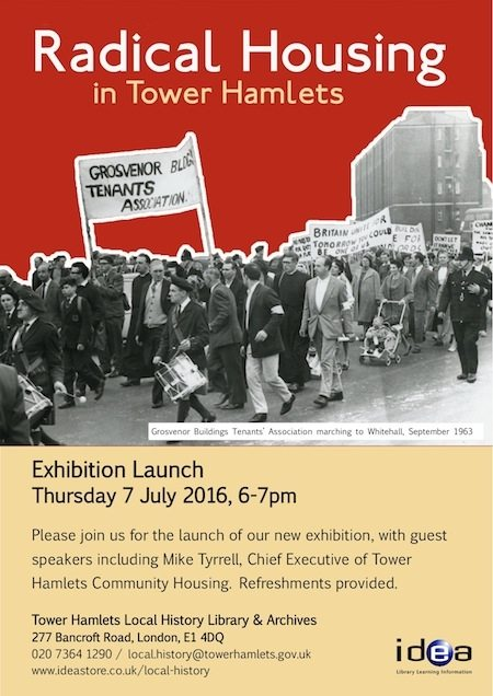 Radical Housing Exhibition3Exhibition Launch Invite
